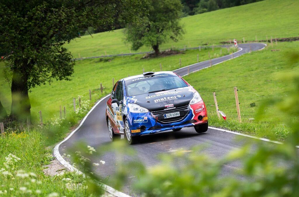 Peugeot Rally Cup v Hustopečích bez Firly a Kamence.