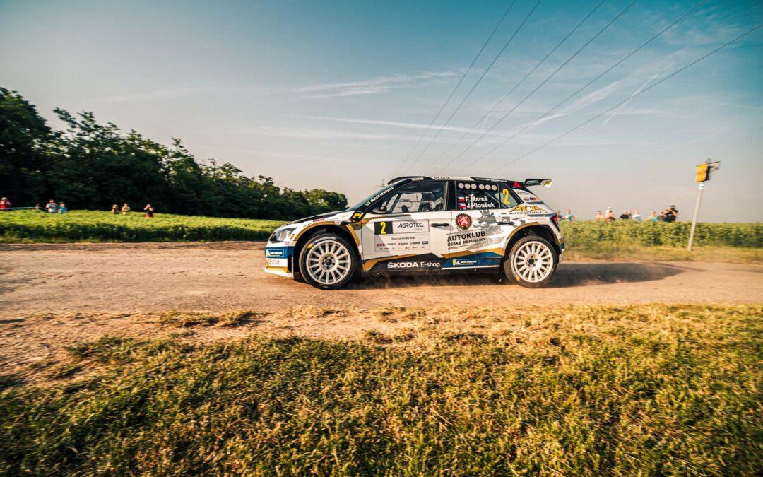 Filip Mareš a Jan Hloušek vítězi XV. Agrotec Petronas Rally 2019.