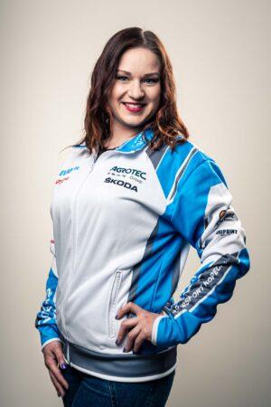 Reklamní oblečení AGROTEC ŠKODA Rally Team.